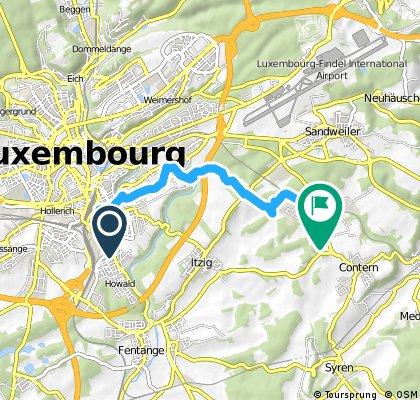 Prima passeggiata in Lussemburgo giugno 2016