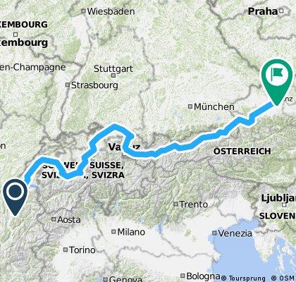 Z Ženevy do Čech