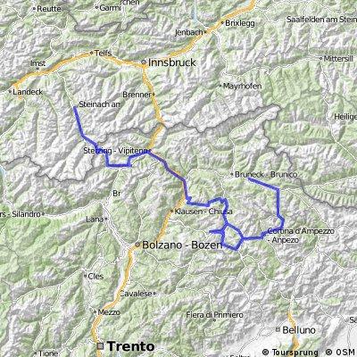 Münz Transalp Dolomiti Tour 2016