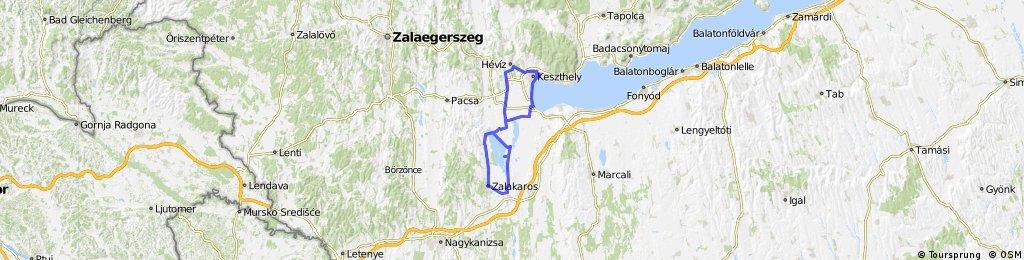 Keszthely Kis Balaton Heviz Draft Bikemap Your Bike Routes