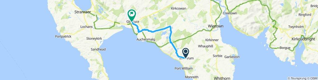 St Ninian's Way - Mochrum to Glenluce