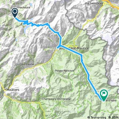 Route des Grandes Alpes - Beaufort - Val d´ Isere