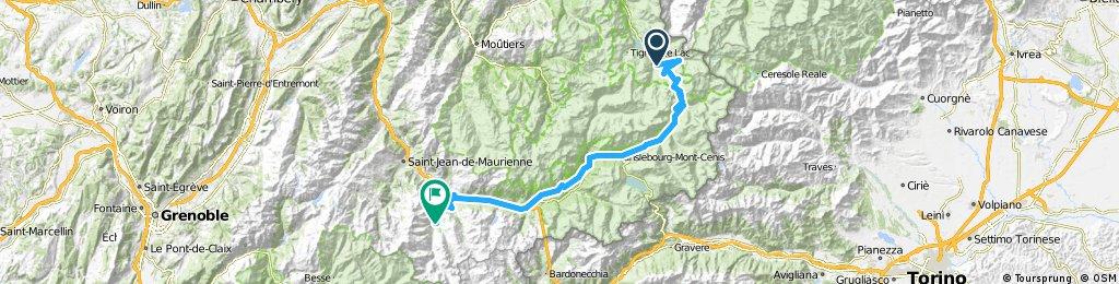 Route des Grandes Alpes - Val d´ Isere - Valloire