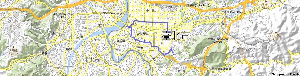 Ubike夜遊台北