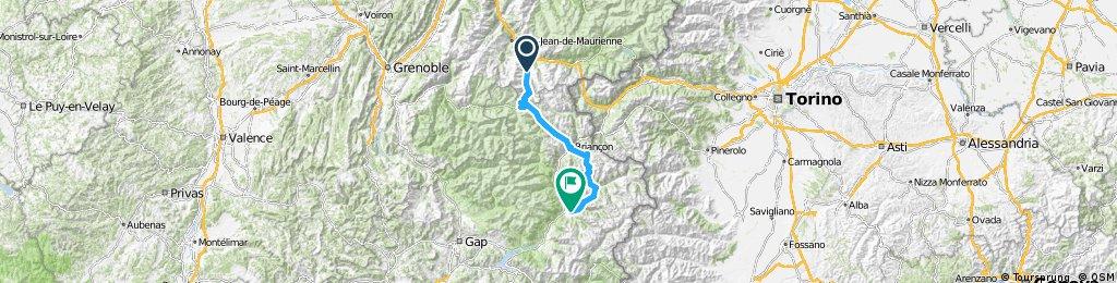 Route des Grandes Alpes - Valloire - Guillestre