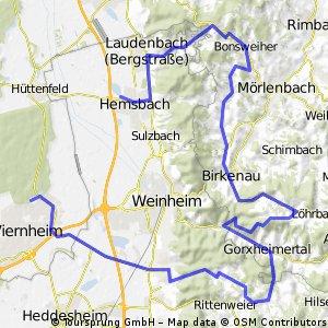 Hemsbach - Viernheim