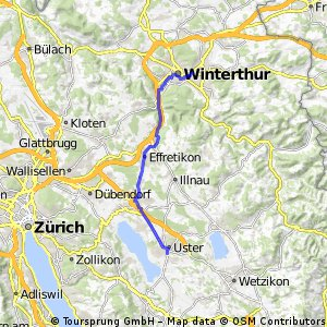 Uster - Winterthur