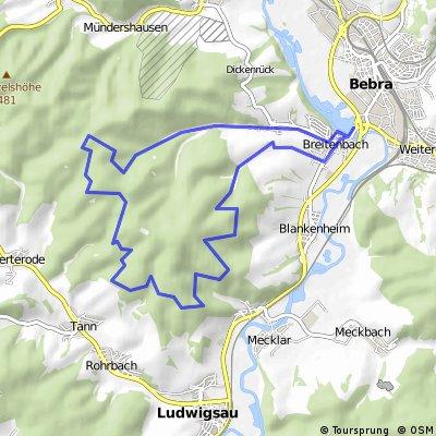 Bebra *Rundtour: Lehmbach - Am Stern - Hohe Buche