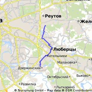 Дзержинский - Новокосино