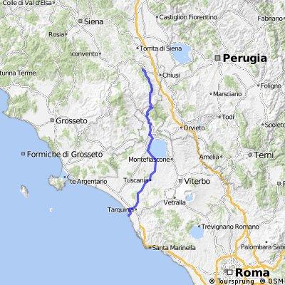 LDW TOUR 2016 Chianciano Terme - Tarquinia Lido
