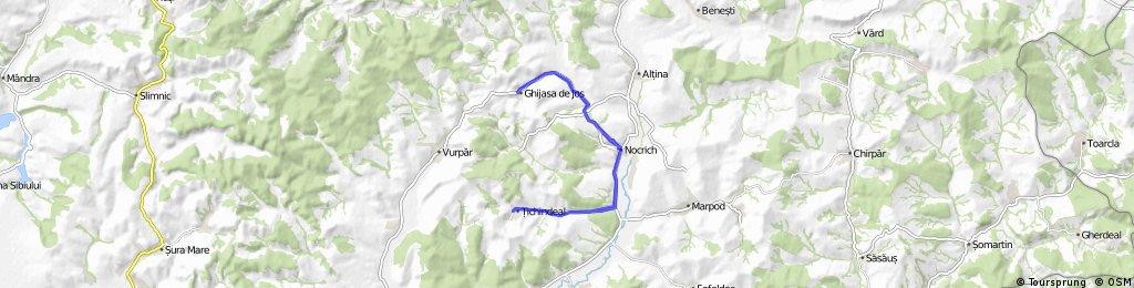 Nocrich - Ghijasa de Jos - Nocrich - Tichindeal - Nocrich