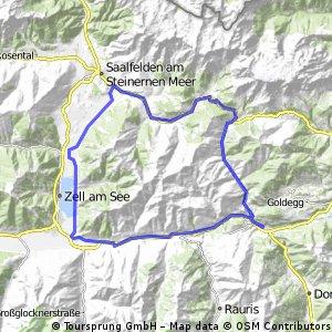 Dienten - Maria Alm - Zell/See - Salzachtal