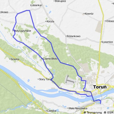 12.07.2016. Z Torunia do Zamku Bierzgłowskiego