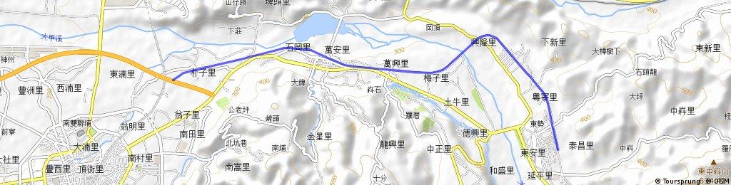 Dongfeng Bike Path, Taichung, Biking Taiwan