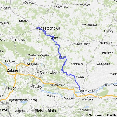 Szlak Orlich Gniazd - oficjalny szlak