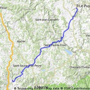 2016 Ride Day 93 - Le-Puy-en-Velay to Marvejols