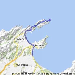 Platja de Muro - Formentor