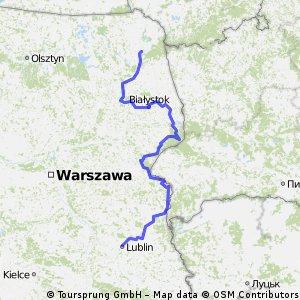Suwałki-Lublin GV