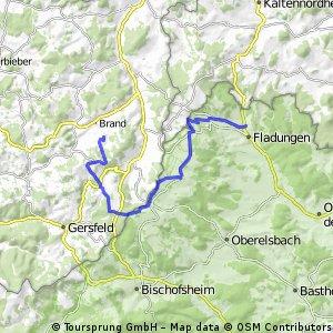 Hammeranstiege: 5 Berge (Teil 3: Wasserkuppe & Hohe Rhön bis Oberfladungen)