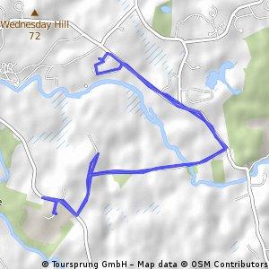 Bike 2 Farm Tour Route Day 1