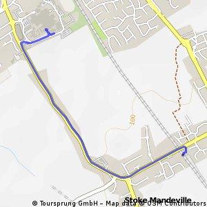 Quick bike tour from Aylesbury to Aylesbury Vale