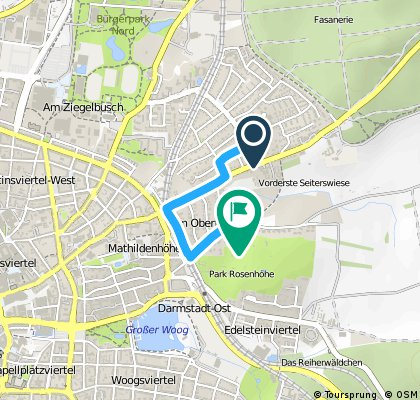 Route (Ich) Oberfeld