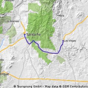Stage 7 - Las Vegas - Santa Fe