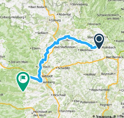 EV4-Etape 3 Kulmbach-Trabelsdorf
