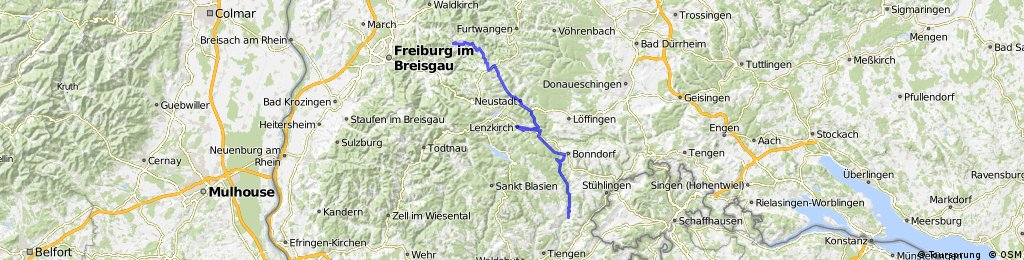 Day 13 St Peter to Untermettingen