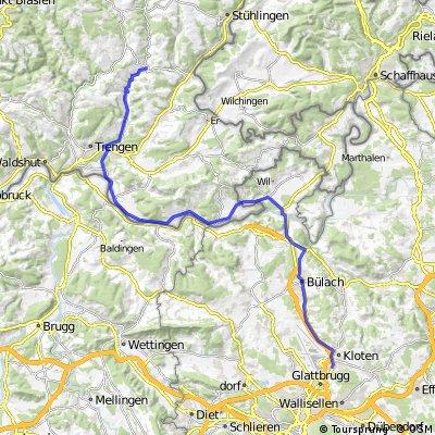 Day 14: Untermettingen to Zurich