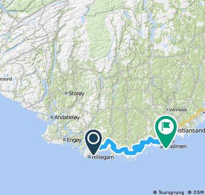Norweski Roadtripp 4 days - ~500km - ~8000m up.