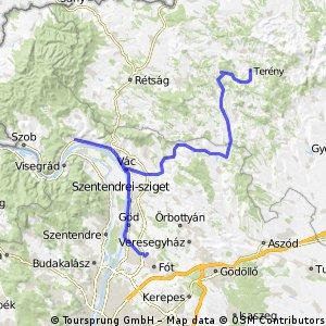 Balatoni Biciklitúra - 1. nap