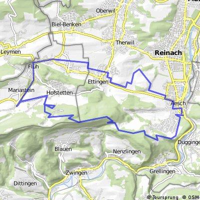 Blauen route 1