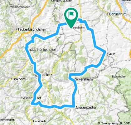Rundtour Sulzdorf - Niederstetten