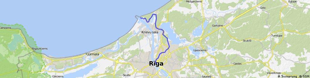 Riga - Rigský záliv