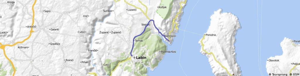 Labin - Vidikovac - Labin