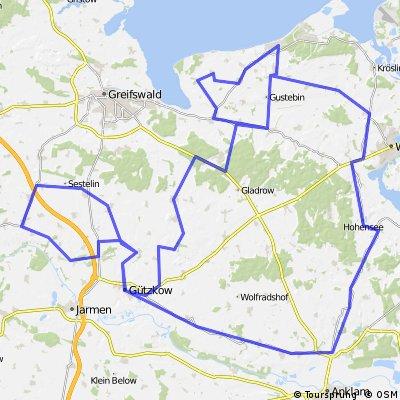 160 km RTF - Quer durch Ostvorpommern