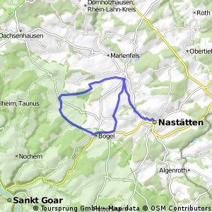 Miehlen-Bogel-Himmighofen-Nastätten-Miehlen