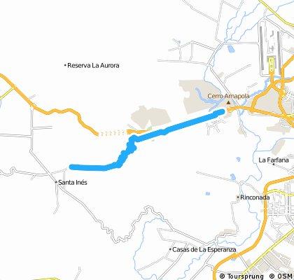 bike tour from Curacaví to Pudahuel