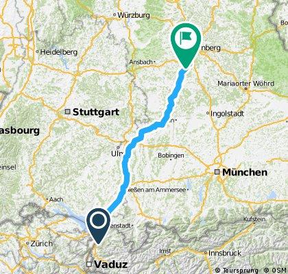 Lindau - Nürnberg