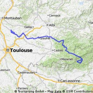 Route du Sud Etape 1