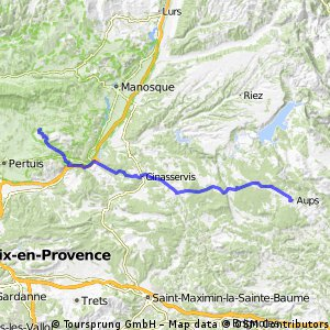 12 Aups - Le Thor 68 km