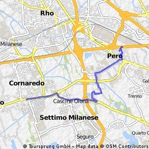 Quick ride from Cornaredo to Pero