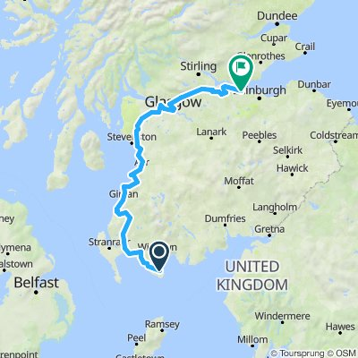 St Ninian's Way - Carlisle to St Andrews -Part 2- Whithorn to South Queensferry