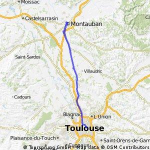 Toulouse - Mountauban - Toulouse