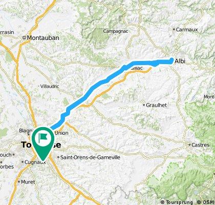 Toulouse - Gaillac - Albi