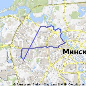 bike tour through Минск