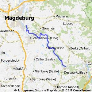 Aken - Magdeburg