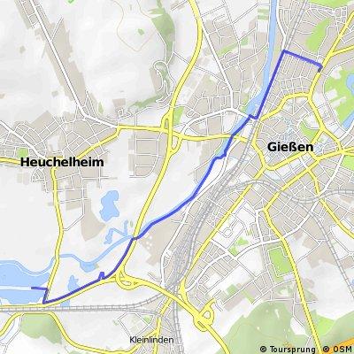 Kleine Lahntour Gießen - Silbersee