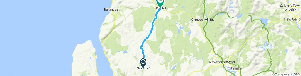 St Ninian's Way - New Luce to Barrhill